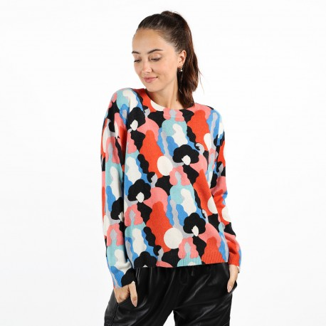 PULL COL ROND WOMEN