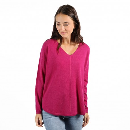 PULL COL V OVERSIZE CASUAL